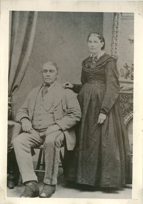 Portland Merchant, James Donovan and wife Catherine