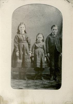Donovan children, Portland, Ontario