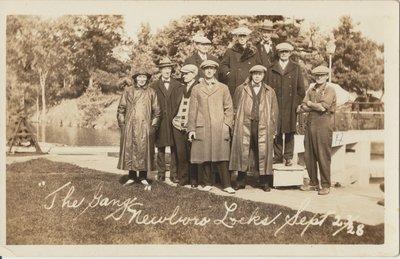 Group at Newboro Lock 1928