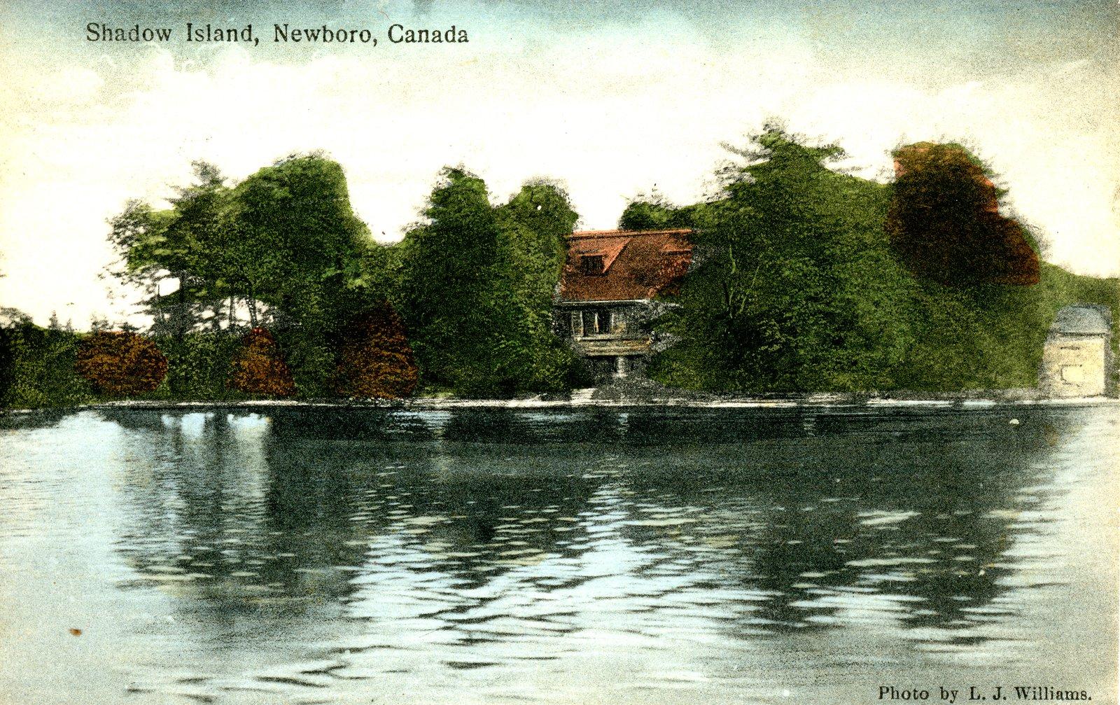 Shadow Island Newboro Lake