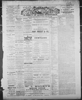 Farmersville Reporter and County of Leeds Advertiser (18840522), 27 Mar 1888