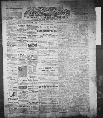 Farmersville Reporter and County of Leeds Advertiser (18840522), 9 Oct 1888