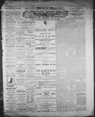 Athens Reporter and County of Leeds Advertiser (18920112), 8 Jan 1889