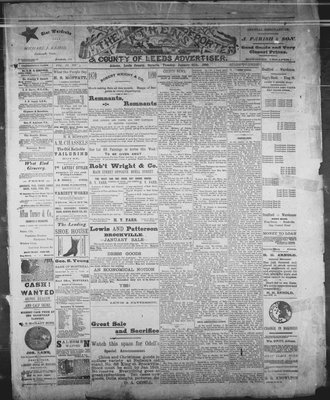 Athens Reporter and County of Leeds Advertiser (18920112), 21 Jan 1890