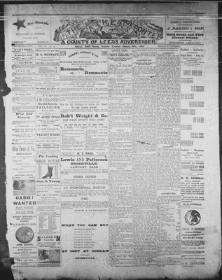 Athens Reporter and County of Leeds Advertiser (18920112), 28 Jan 1890