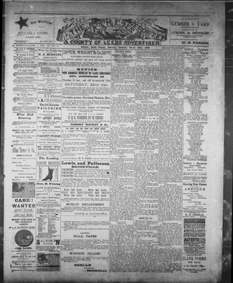 Athens Reporter and County of Leeds Advertiser (18920112), 18 Mar 1890