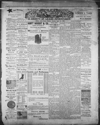 Athens Reporter and County of Leeds Advertiser (18920112), 1 Apr 1890