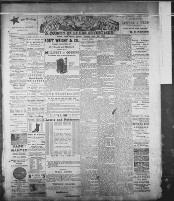 Athens Reporter and County of Leeds Advertiser (18920112), 8 Apr 1890