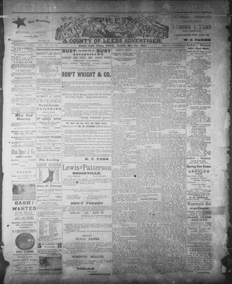 Athens Reporter and County of Leeds Advertiser (18920112), 6 May 1890