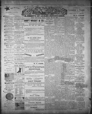 Athens Reporter and County of Leeds Advertiser (18920112), 13 May 1890