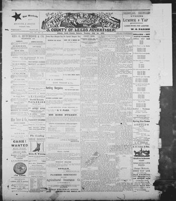 Athens Reporter and County of Leeds Advertiser (18920112), 1 Jul 1890