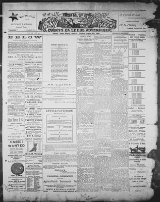 Athens Reporter and County of Leeds Advertiser (18920112), 5 Aug 1890