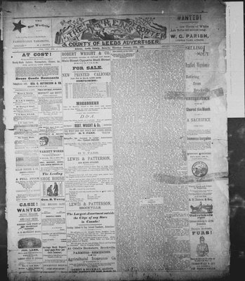 Athens Reporter and County of Leeds Advertiser (18920112), 13 Jan 1891