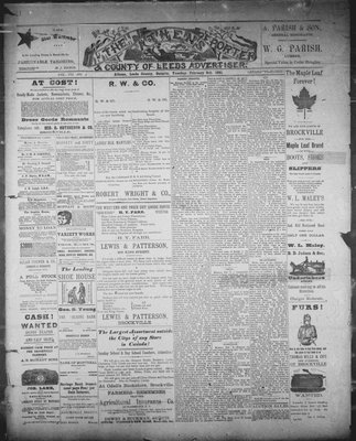 Athens Reporter and County of Leeds Advertiser (18920112), 3 Feb 1891