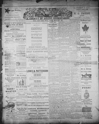 Athens Reporter and County of Leeds Advertiser (18920112), 24 Mar 1891