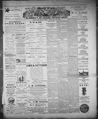 Athens Reporter and County of Leeds Advertiser (18920112), 12 May 1891