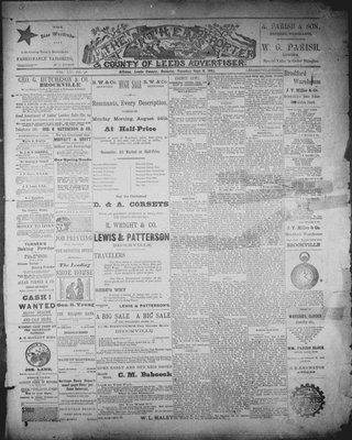 Athens Reporter and County of Leeds Advertiser (18920112), 8 Sep 1891