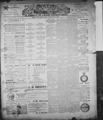 Athens Reporter and County of Leeds Advertiser (18920112), 17 Nov 1891