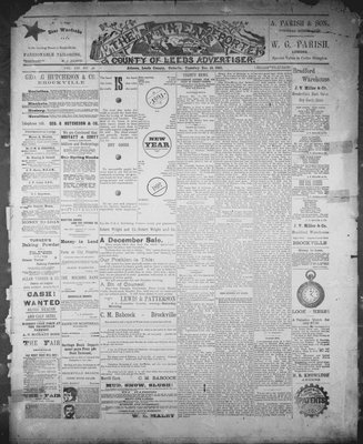 Athens Reporter and County of Leeds Advertiser (18920112), 15 Dec 1891