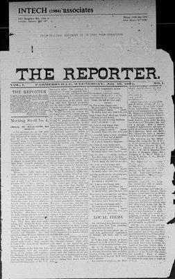 Farmersville Reporter and County of Leeds Advertiser (18840522), 16 Jul 1884
