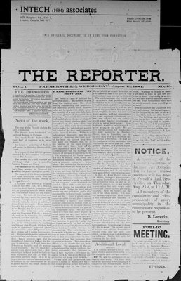 Farmersville Reporter and County of Leeds Advertiser (18840522), 13 Aug 1884