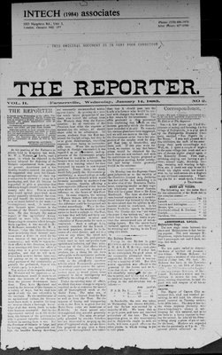 Farmersville Reporter and County of Leeds Advertiser (18840522), 14 Jan 1885