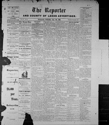Farmersville Reporter and County of Leeds Advertiser (18840522), 9 Jun 1886