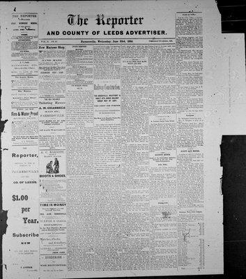 Farmersville Reporter and County of Leeds Advertiser (18840522), 23 Jun 1886