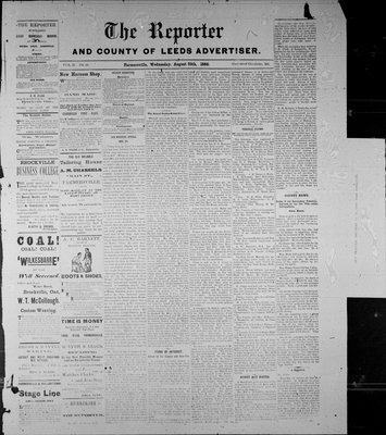 Farmersville Reporter and County of Leeds Advertiser (18840522), 25 Aug 1886