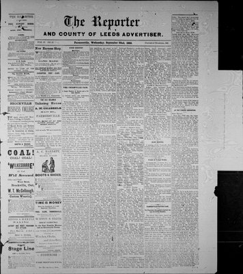 Farmersville Reporter and County of Leeds Advertiser (18840522), 22 Sep 1886