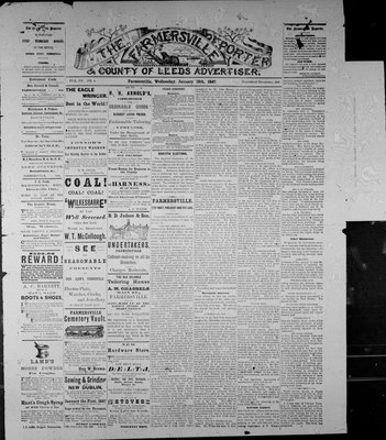Farmersville Reporter and County of Leeds Advertiser (18840522), 19 Jan 1887