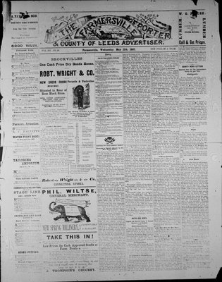 Farmersville Reporter and County of Leeds Advertiser (18840522), 11 May 1887