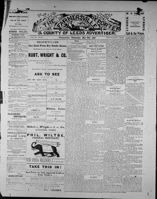 Farmersville Reporter and County of Leeds Advertiser (18840522), 18 May 1887