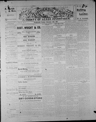 Farmersville Reporter and County of Leeds Advertiser (18840522), 15 Nov 1887