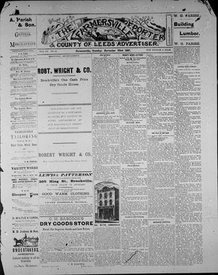 Farmersville Reporter and County of Leeds Advertiser (18840522), 22 Nov 1887