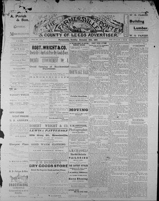 Farmersville Reporter and County of Leeds Advertiser (18840522), 13 Dec 1887
