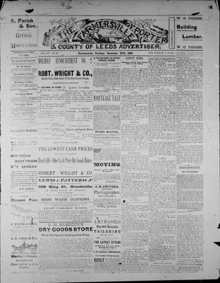 Farmersville Reporter and County of Leeds Advertiser (18840522), 20 Dec 1887