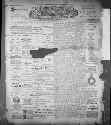 Athens Reporter and County of Leeds Advertiser (18920112), 12 Jan 1892
