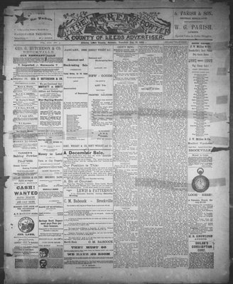 Athens Reporter and County of Leeds Advertiser (18920112), 19 Jan 1892