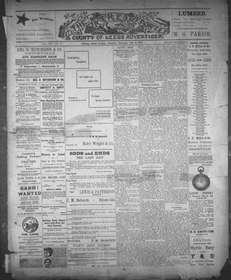 Athens Reporter and County of Leeds Advertiser (18920112), 9 Feb 1892