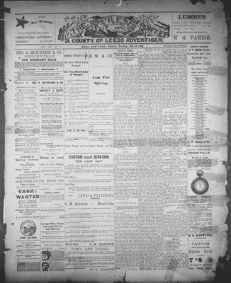 Athens Reporter and County of Leeds Advertiser (18920112), 16 Feb 1892