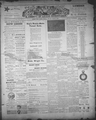 Athens Reporter and County of Leeds Advertiser (18920112), 1 Mar 1892