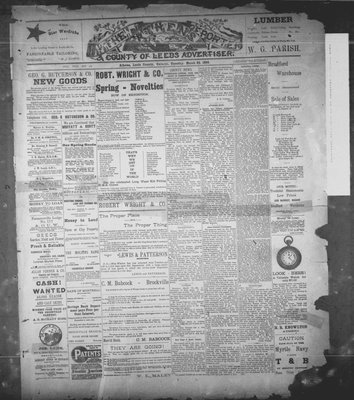 Athens Reporter and County of Leeds Advertiser (18920112), 22 Mar 1892