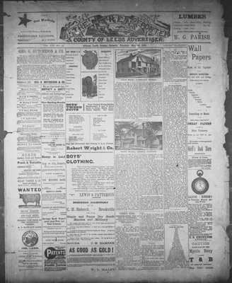 Athens Reporter and County of Leeds Advertiser (18920112), 10 May 1892