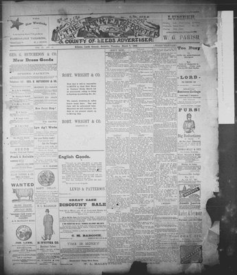 Athens Reporter and County of Leeds Advertiser (18920112), 7 Mar 1893
