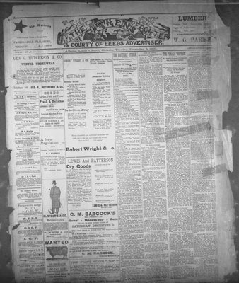 Athens Reporter and County of Leeds Advertiser (18920112), 5 Dec 1893