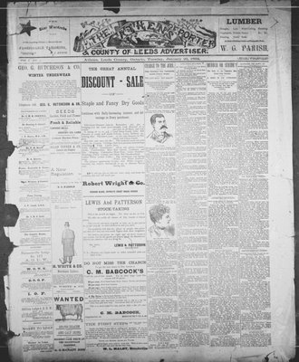 Athens Reporter and County of Leeds Advertiser (18920112), 23 Jan 1894