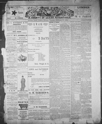 Athens Reporter and County of Leeds Advertiser (18920112), 27 Feb 1894