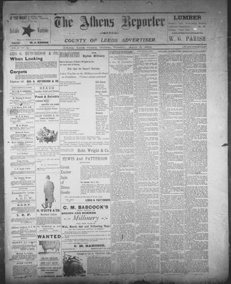 Athens Reporter and County of Leeds Advertiser (18920112), 3 Apr 1894