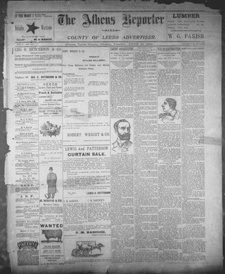 Athens Reporter and County of Leeds Advertiser (18920112), 26 Jun 1894